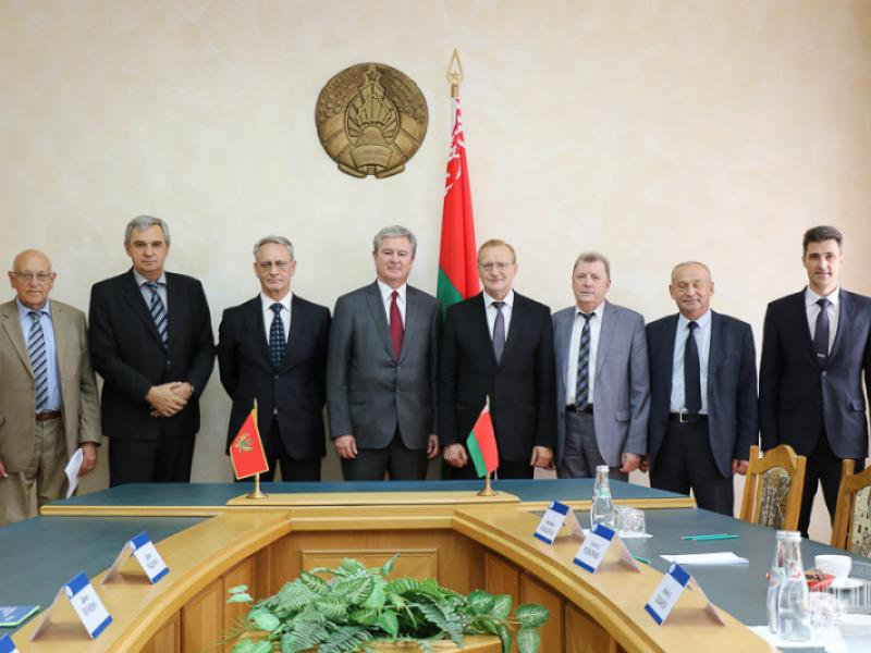 MASA delegation pays a visit to the National Academy of Sciences of Belarus